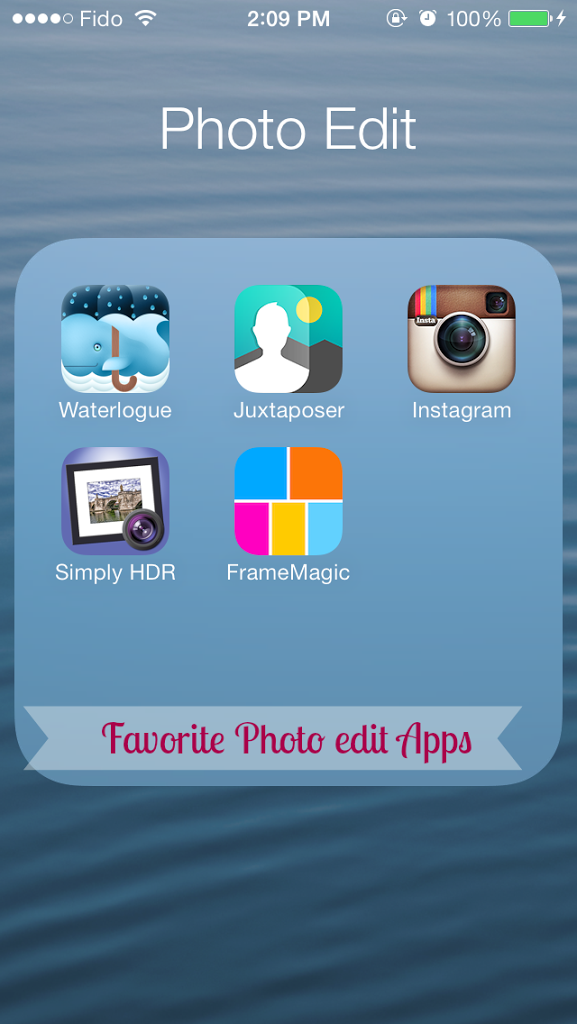 My Top 5 Favorite Photo Edit Apps