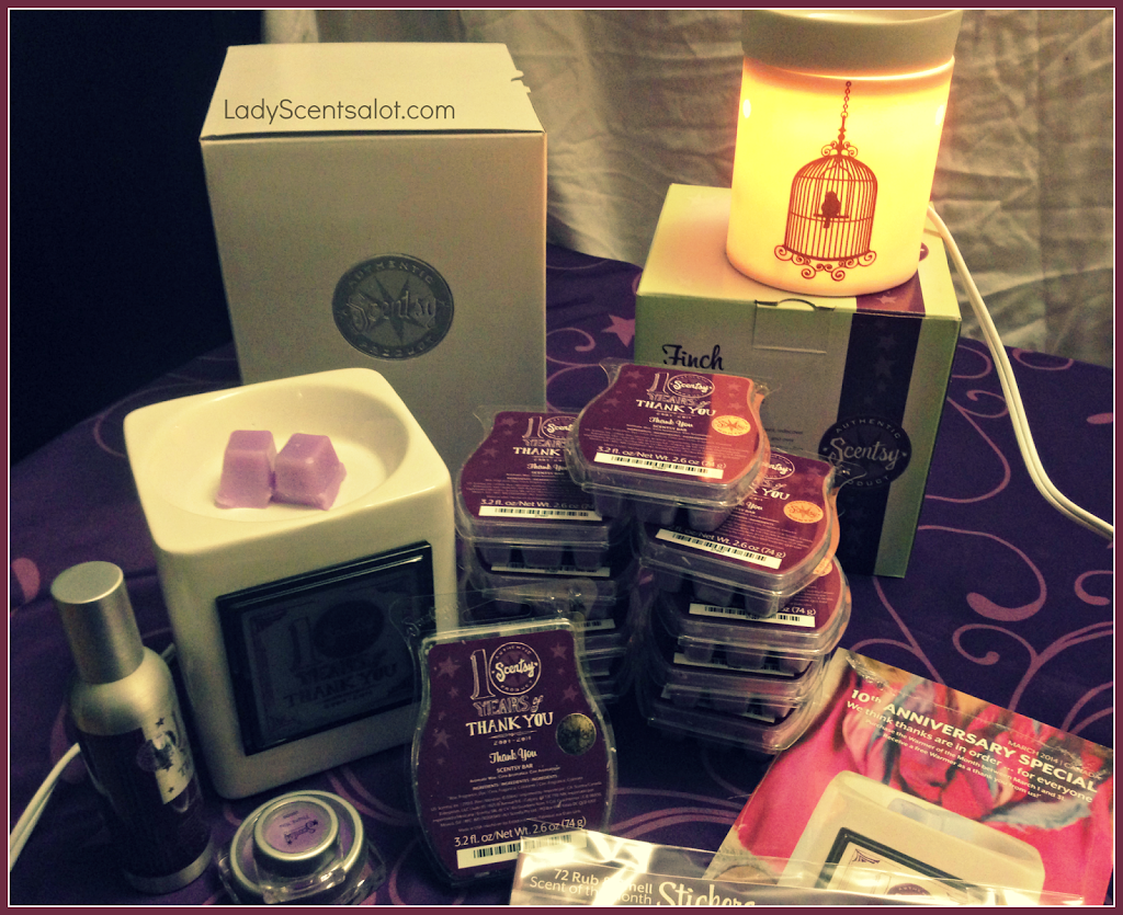 March Scentsy Haul