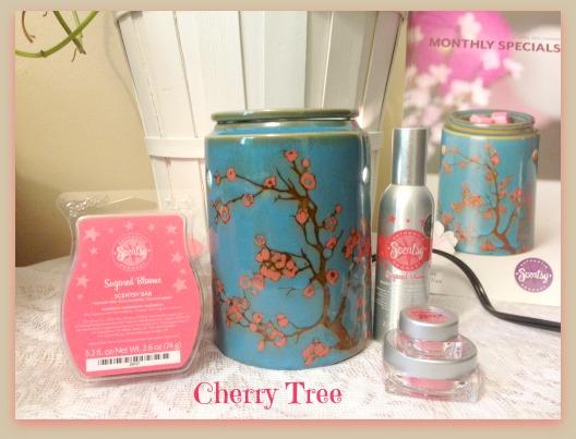 Cherry Tree Scentsy Warmer