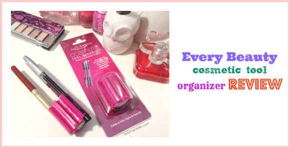 Every beauty cosmetic tool organizer Review