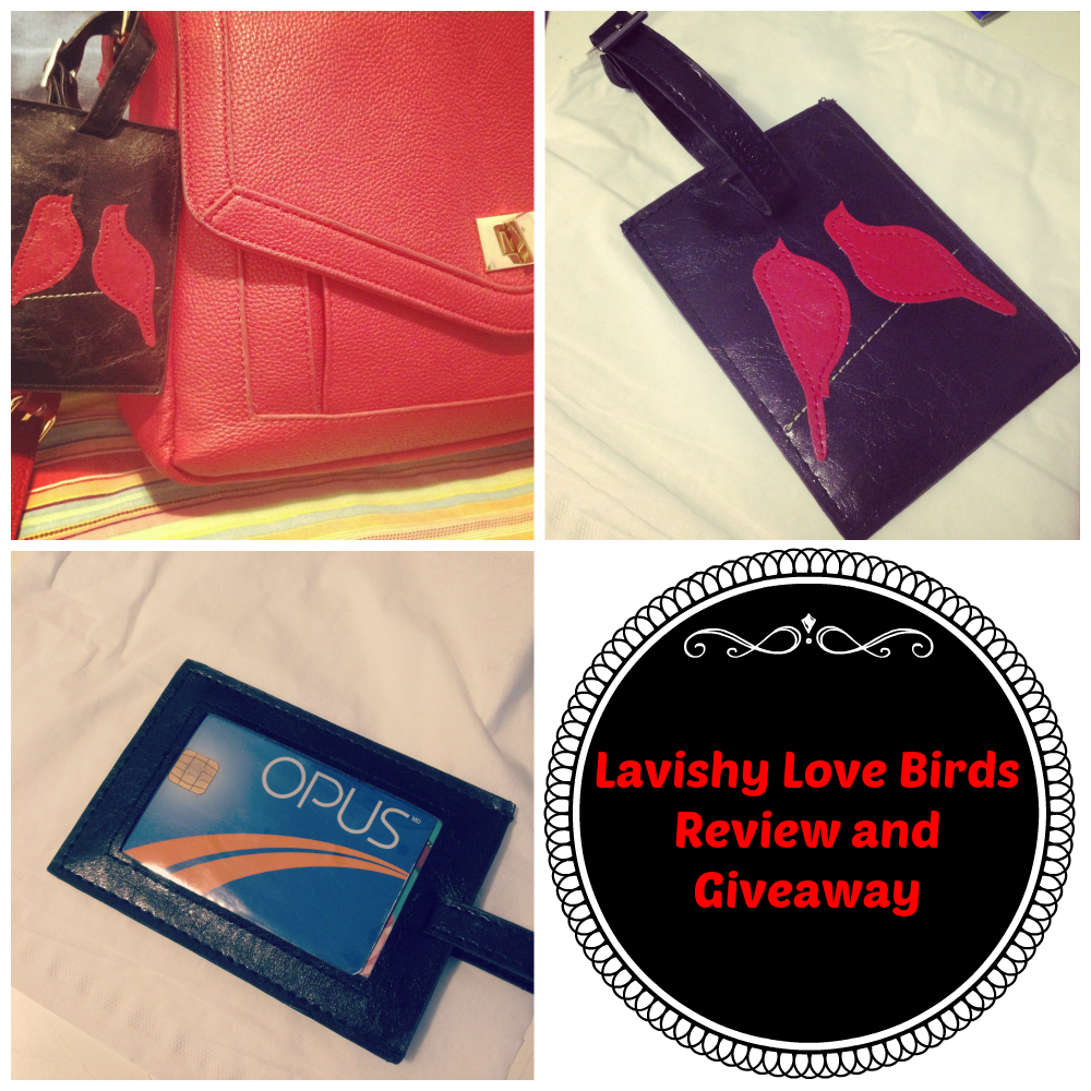 Lavishy Love Birds Leather Tag Giveaway