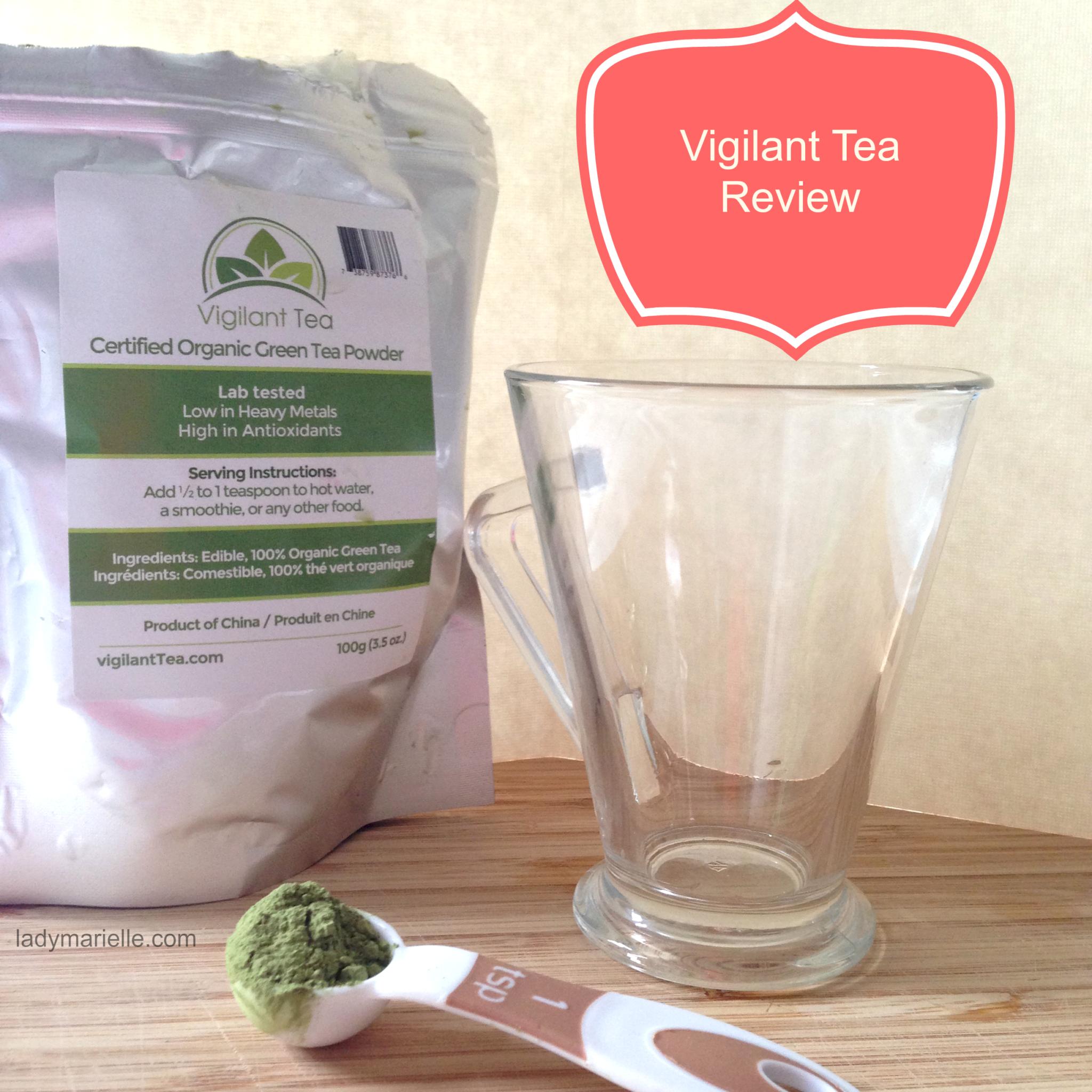 Organic Green Tea Powder Review + Giveaway.