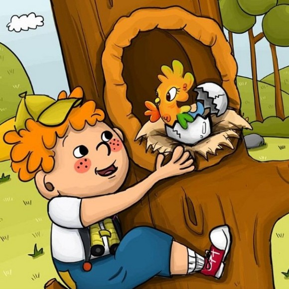 Terry Treetop And The Lost Egg Ebook Review