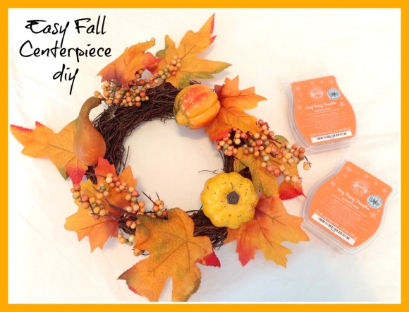 Fall Centerpiece diy