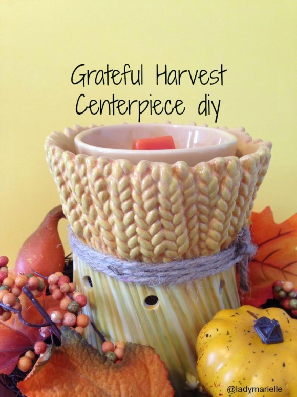Grateful Harvest Centerpiece