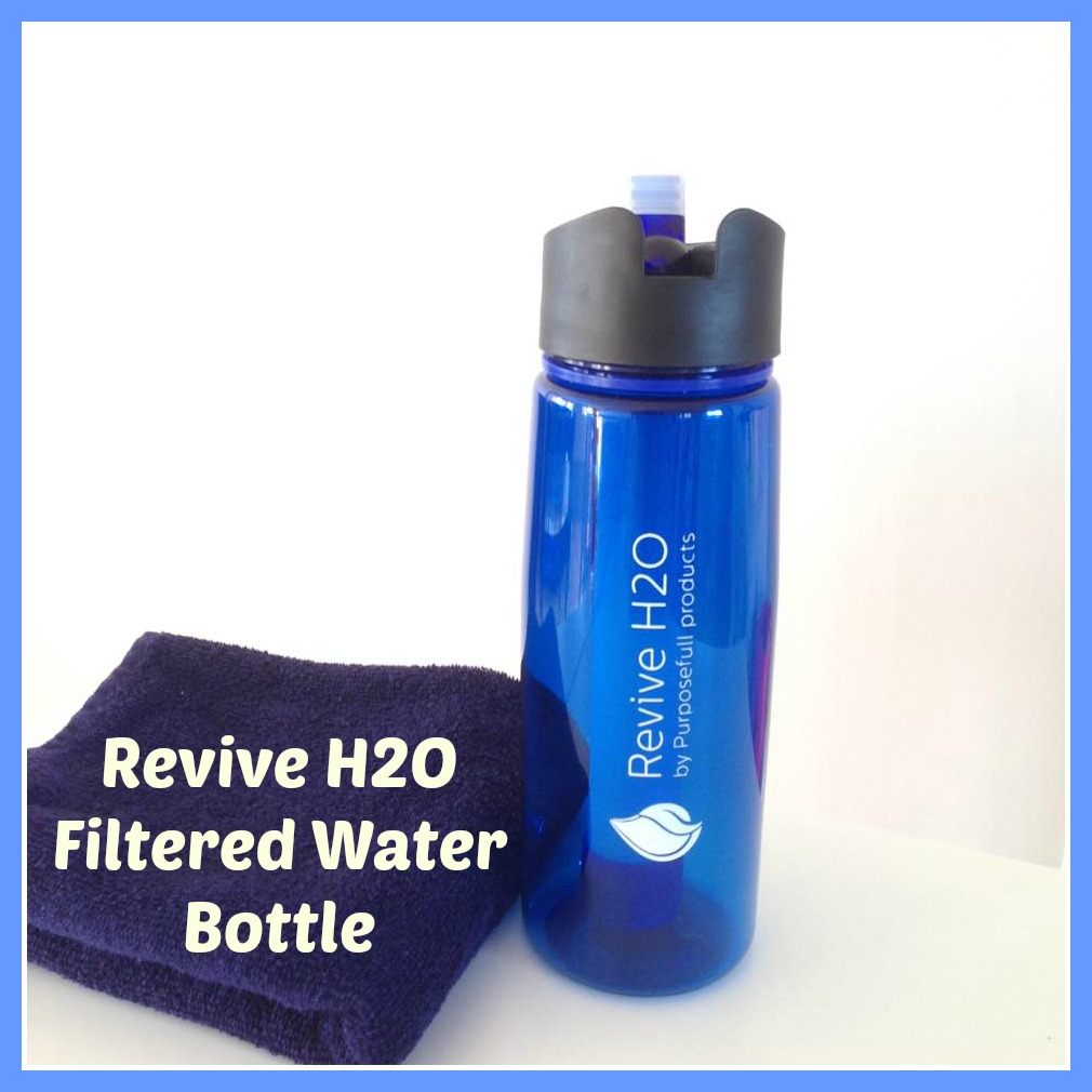 Water Bottle Youtube: Revive H2O Filtered Water Bottle Review