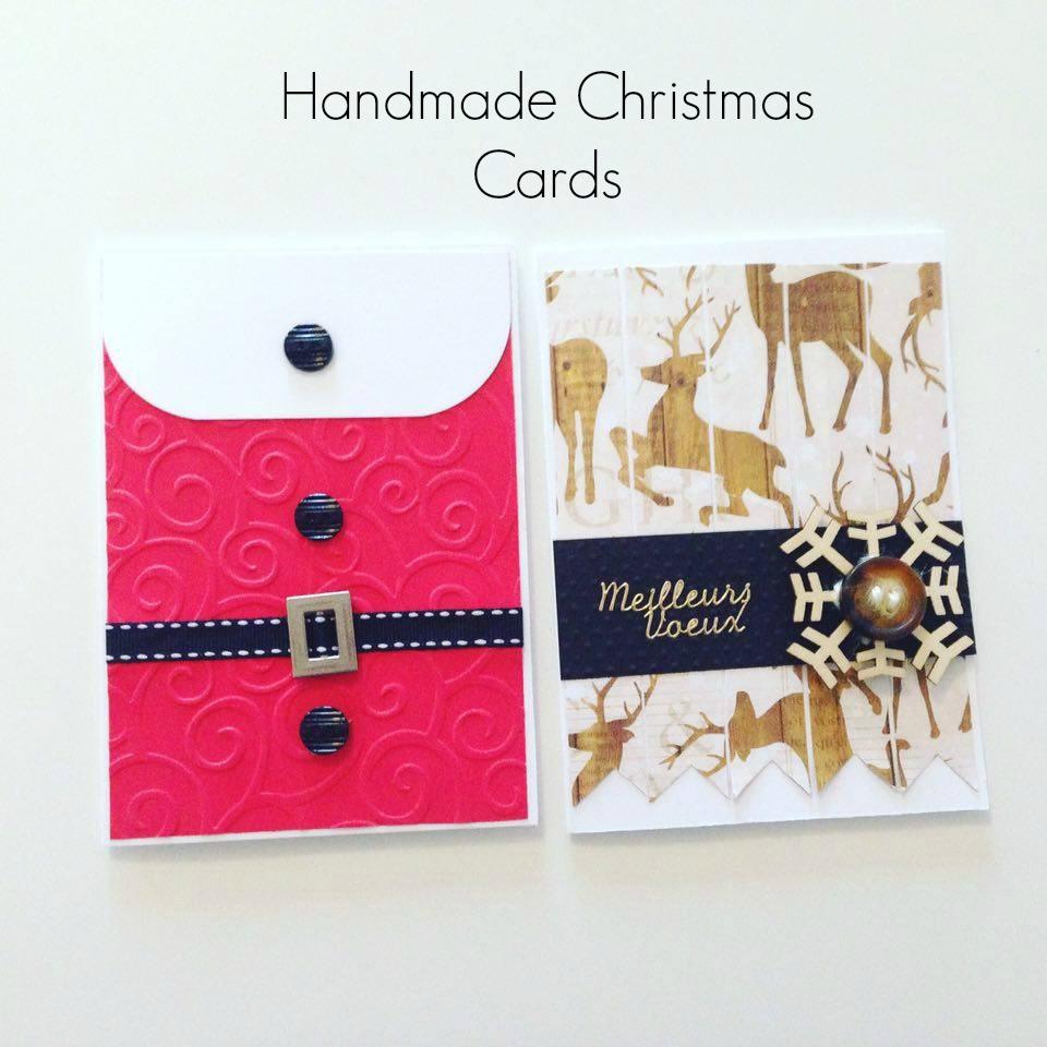 Handmade christmas cards for Handmade christmas cards pinterest