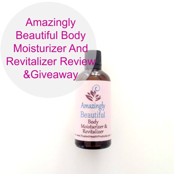 Amazingly Beautiful Body Moisturizer And Revitalizer