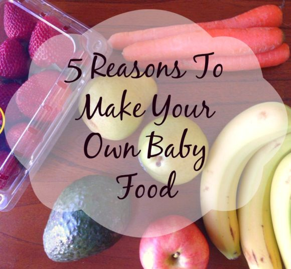 how to make your own baby food recipes