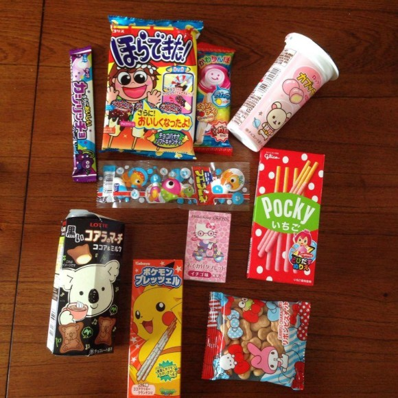 Japan Candy Unboxing