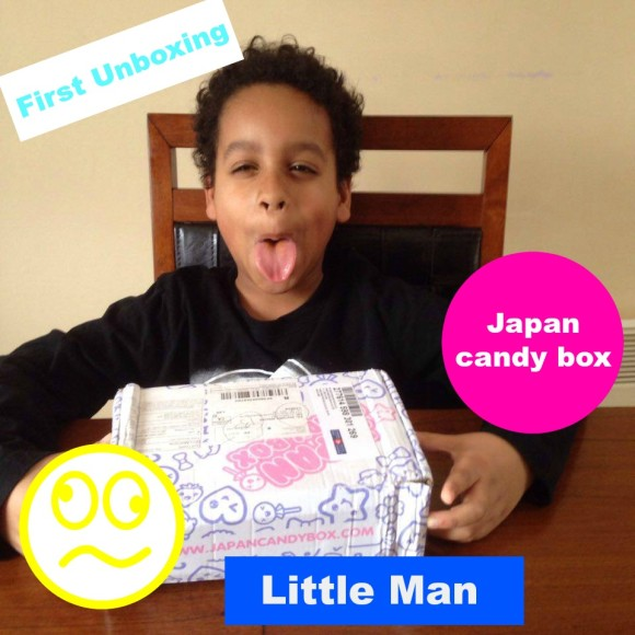 Fun Japan Candy Unboxing by kid!