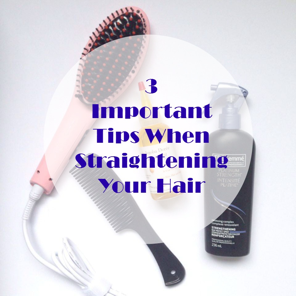 Importance And Tips: 3 Important Tips When Straightening You Hair