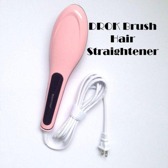 DROK Brush Hair Straightener