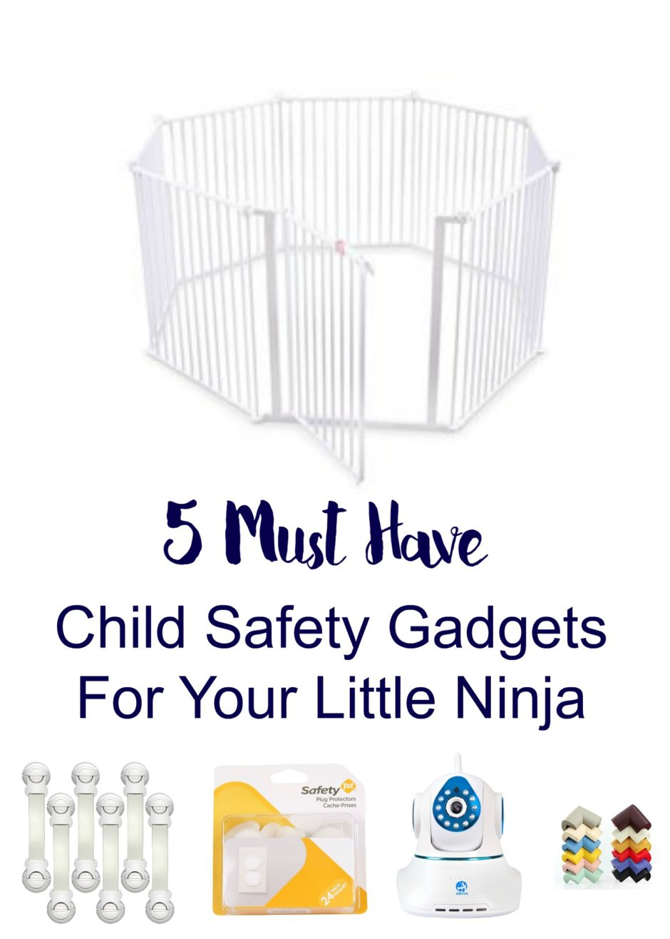 5 Must Have Child Safety Gadgets For Your Little Ninja