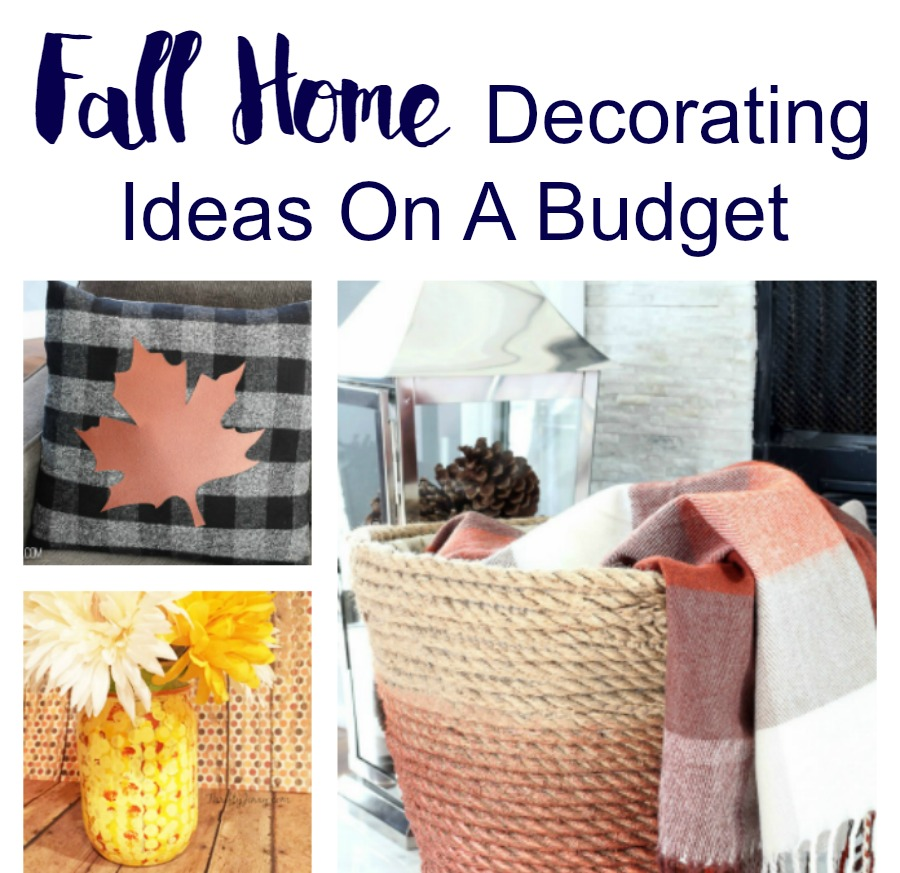 Fall home decorating ideas on a budget pinterest inspired for Home decor on a budget
