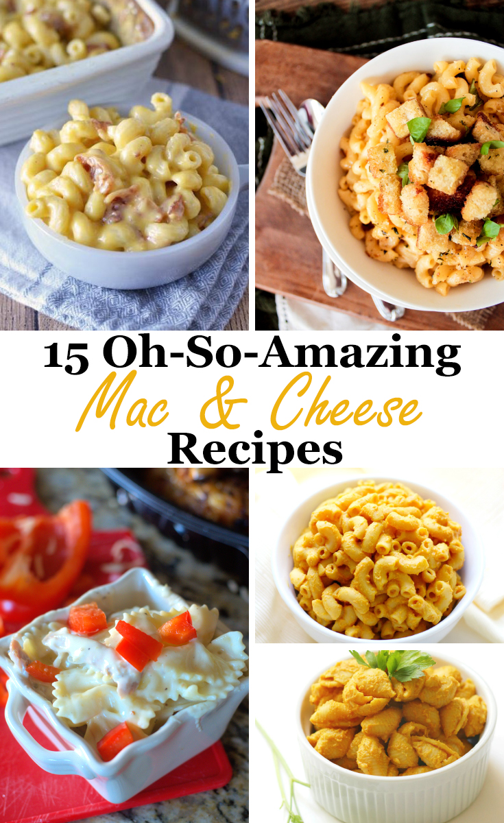 Celebrate National Pasta Day: 15 Oh-So Amazing Mac & Cheese Recipes