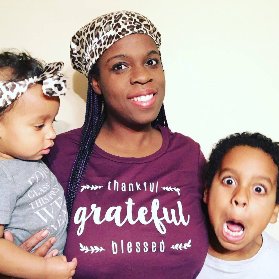 Thankful. Grateful. Blessed. Graphic T-Shirt From Cents Of Style