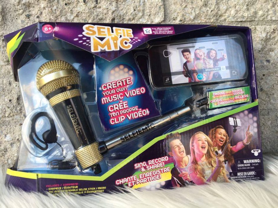 Karaoke like a rock star with the SelfieMic + Giveaway