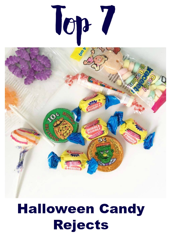Top 7 Halloween Candy Rejects - The worst of the worst!
