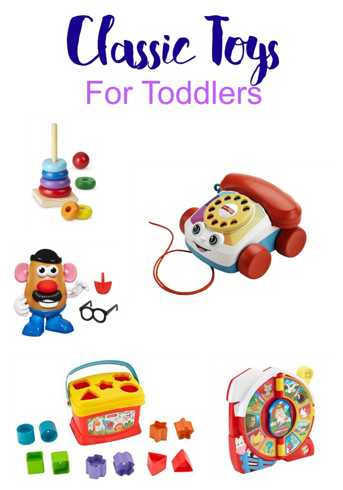 Gift Guide: Classic Toys For Toddlers