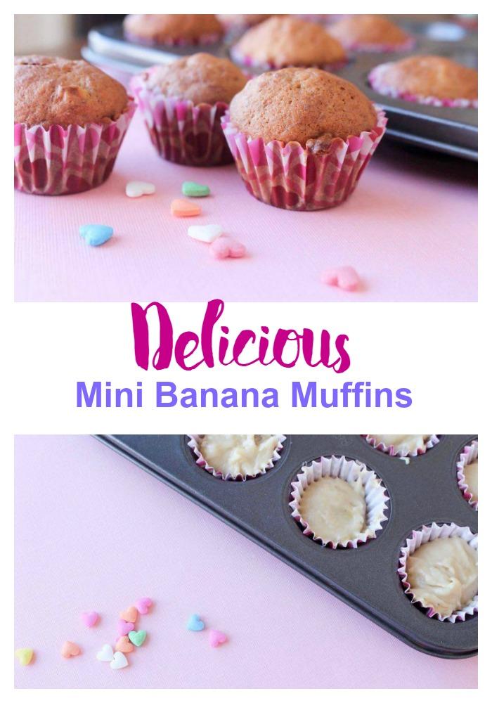 Delicious Mini Banana Muffins