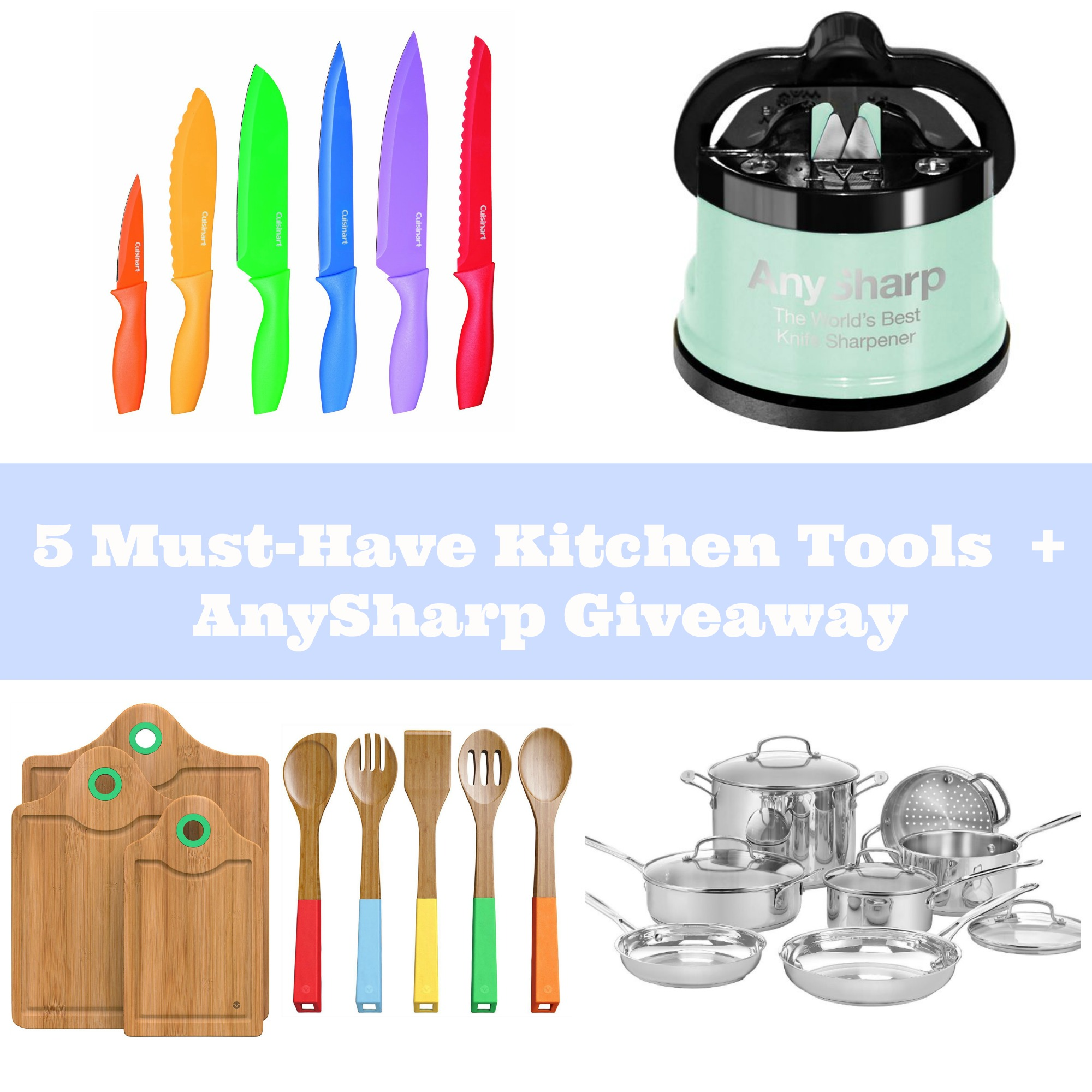 Excellent 5 Must Have Kitchen Tools For People That Love To Cook Giveaway Complete Home Design Collection Lindsey Bellcom