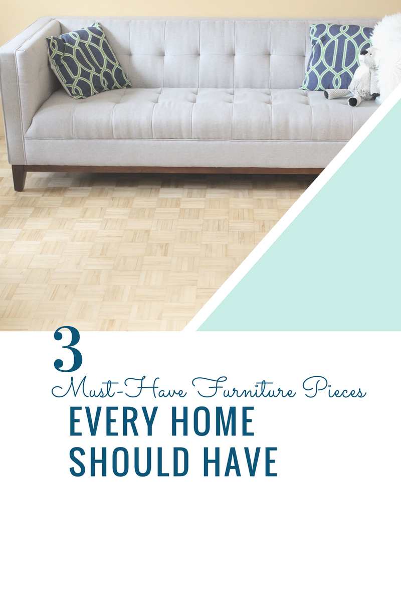 3 Must-Have Furniture Pieces Every Home Should Have -Wazo Furniture Collab