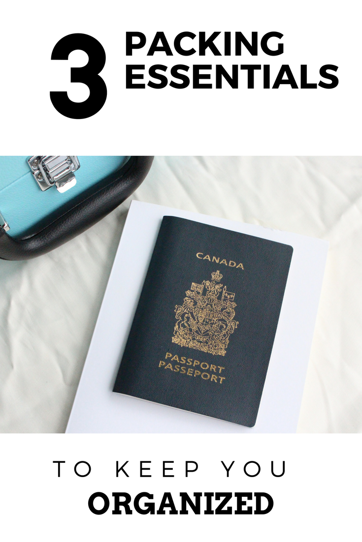 3 Packing Essentials To Keep You Organized + More Exciting News!