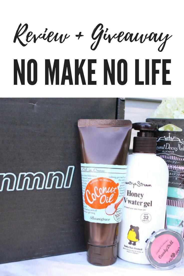 No Make No Life Subscription Box Review + Giveaway!