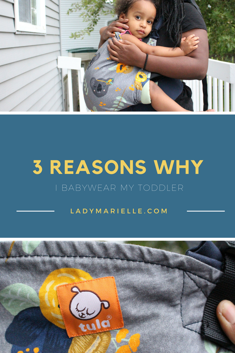 3 Reasons Why I Babywear My Toddler - Baby Tula Review