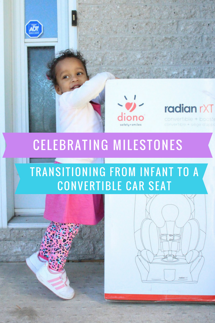 Celebrating Toddlerhood: Transitioning From Infant To A Convertible Car Seat