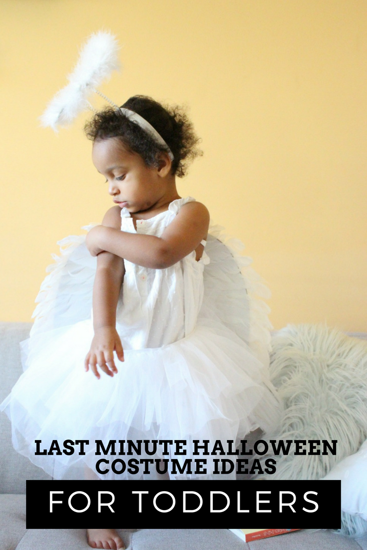Last Minute Halloween Costume Ideas For Toddlers