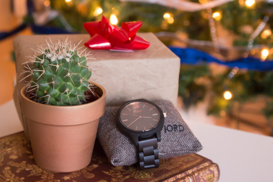 Stylish And Timeless Gift Idea For Dads JORD Wooden Watch