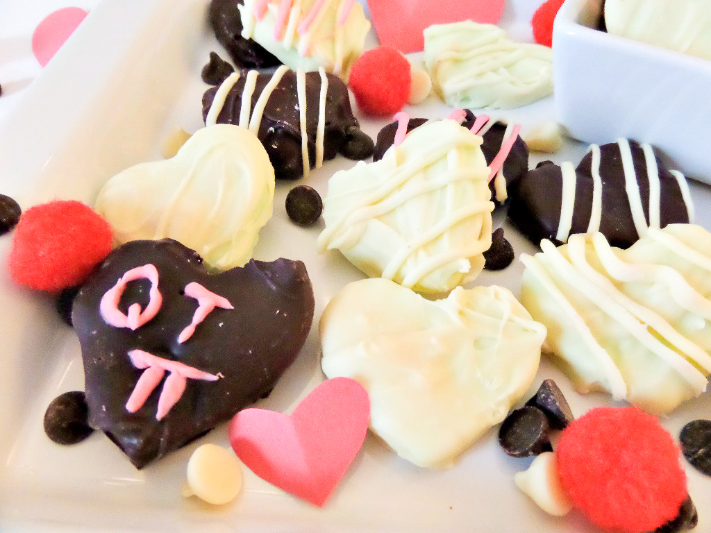 Valentine's Day Mint Chocolates Recipe