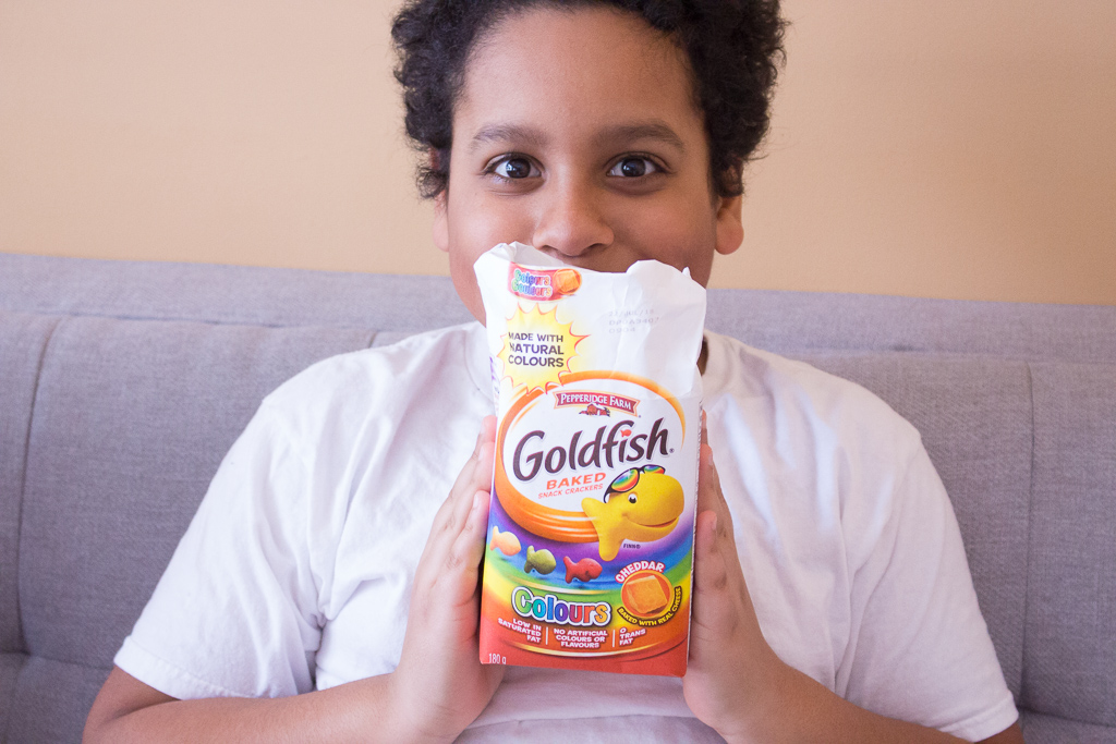 Simple Ways To Beat Cabin Fever + Snack Time With Goldfish Crackers