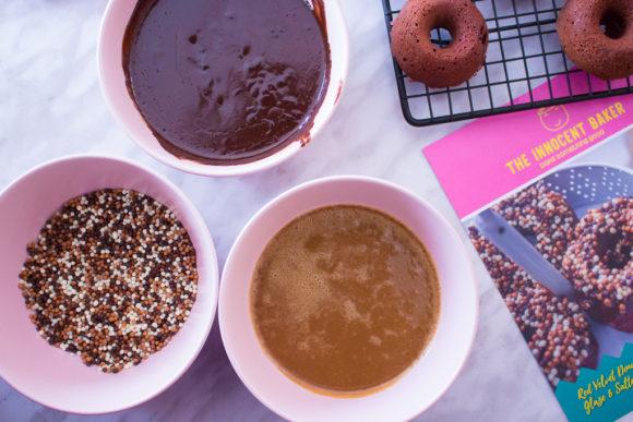 Making Red Velvet Donuts With The Innocent Baker