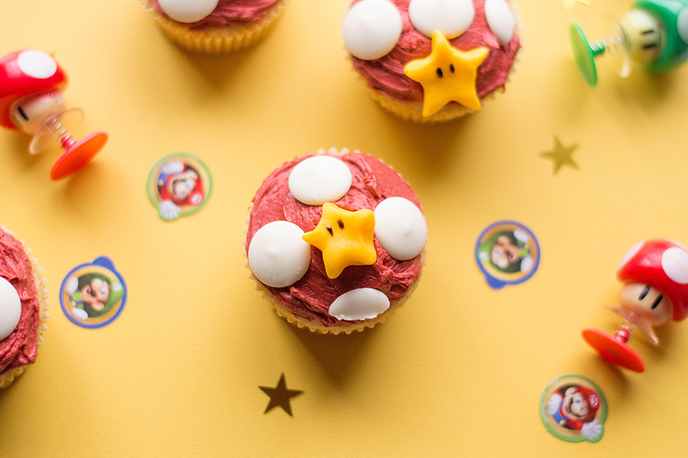Epic Super Mario Cupcakes | Let the games begin!