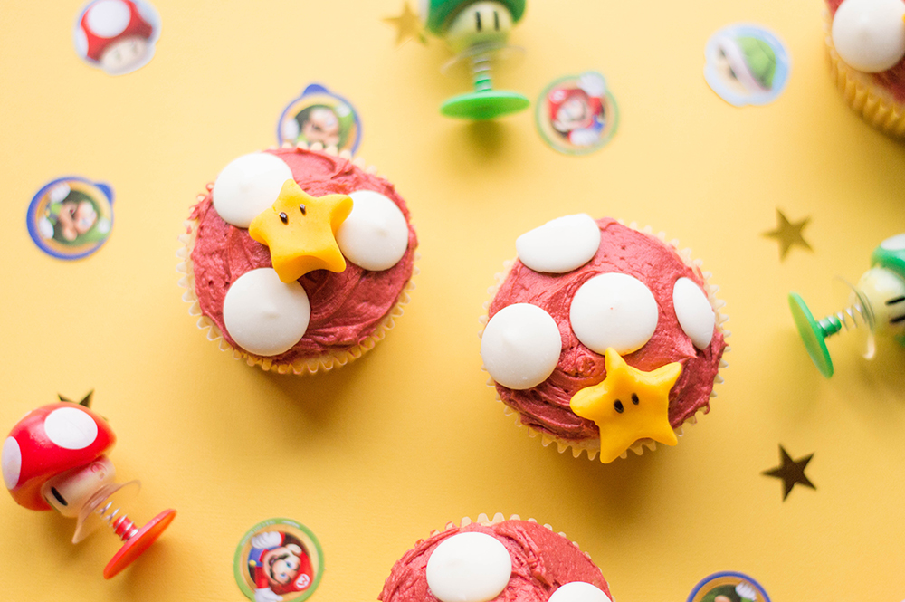 Epic Super Mario Cupcake | Let the games begin!