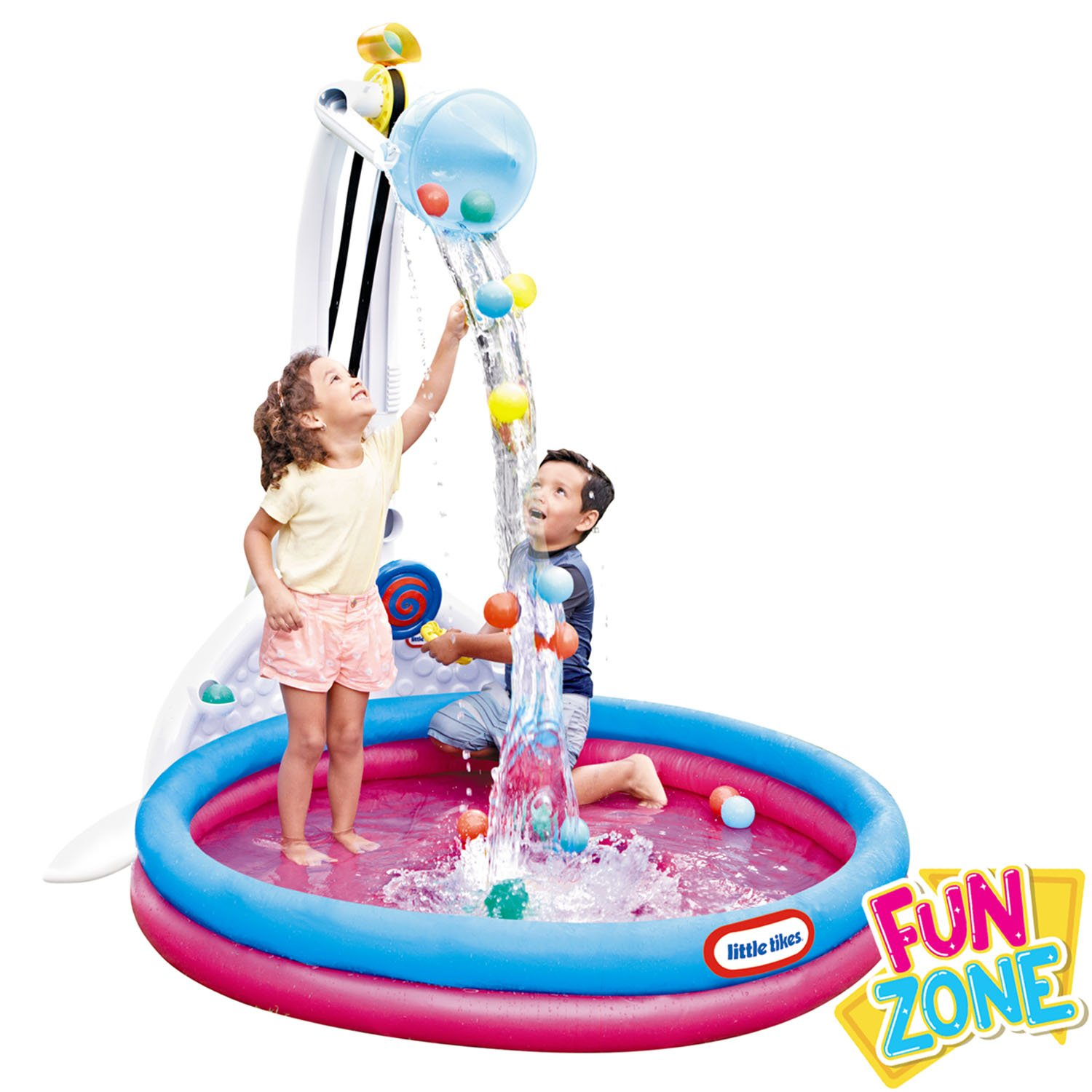 Summer Fun With Little Tikes | Fun Zone Drop Zone