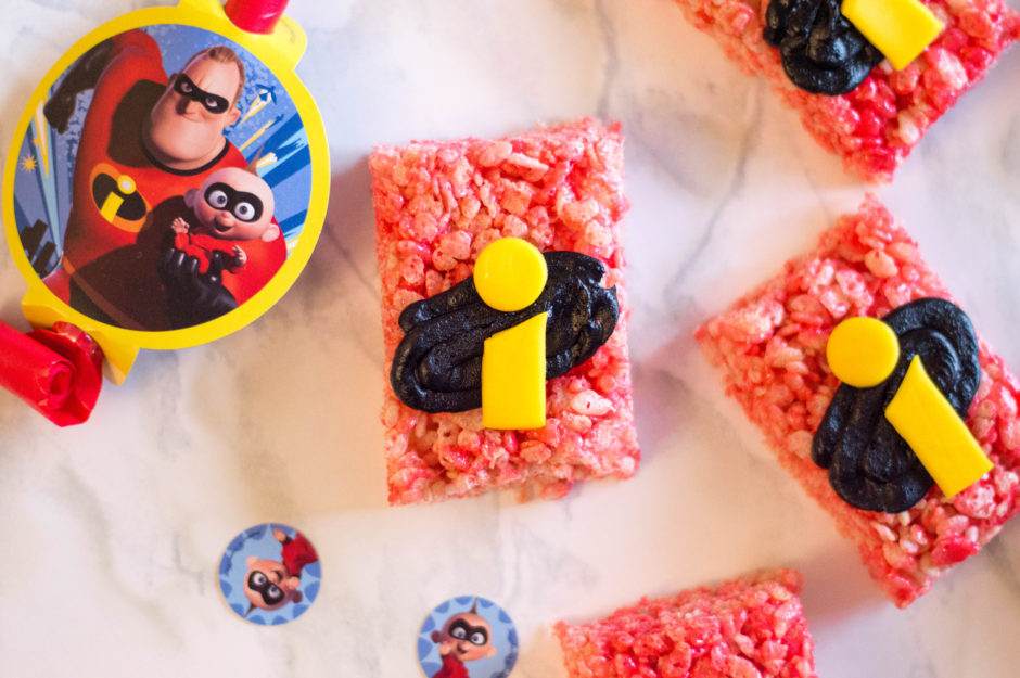 The Incredibles 2 Rice Cereal Treats Recipe