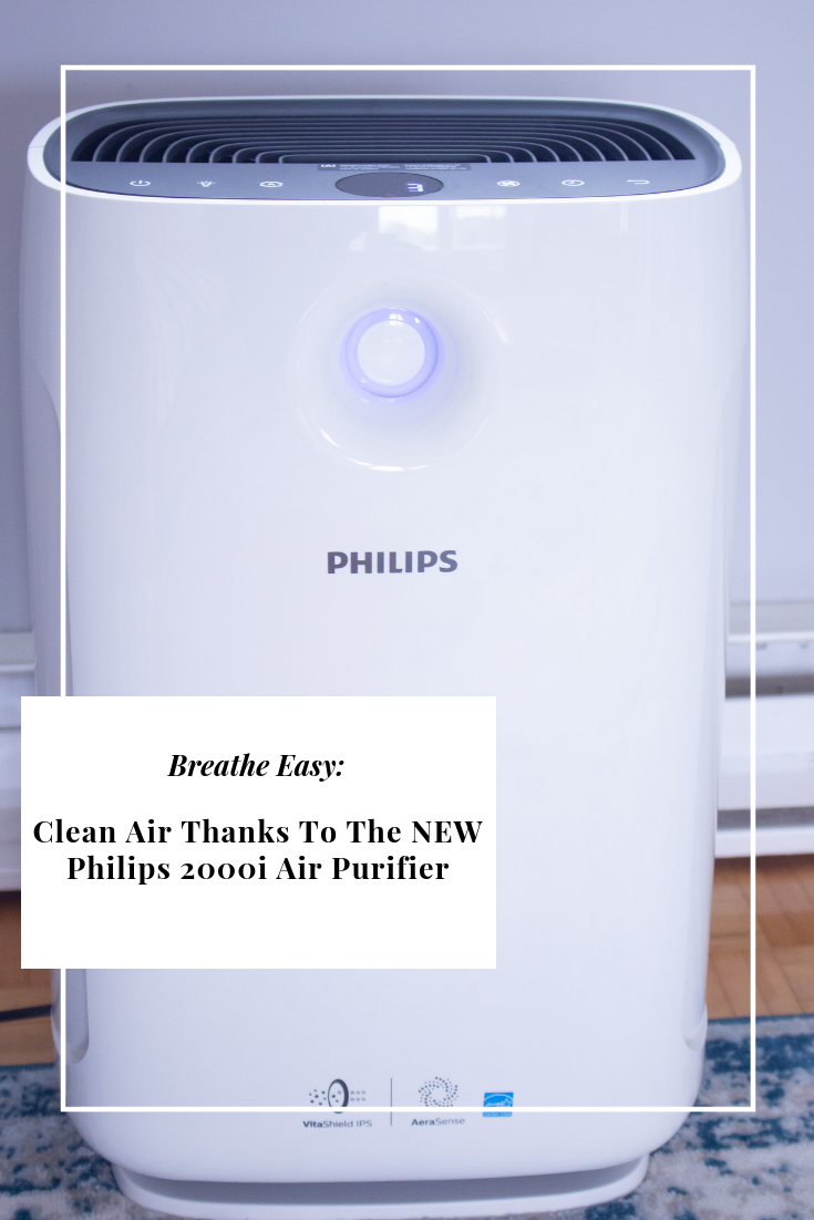 Clean Air Thanks To The NEW Philips 2000i Air Purifier