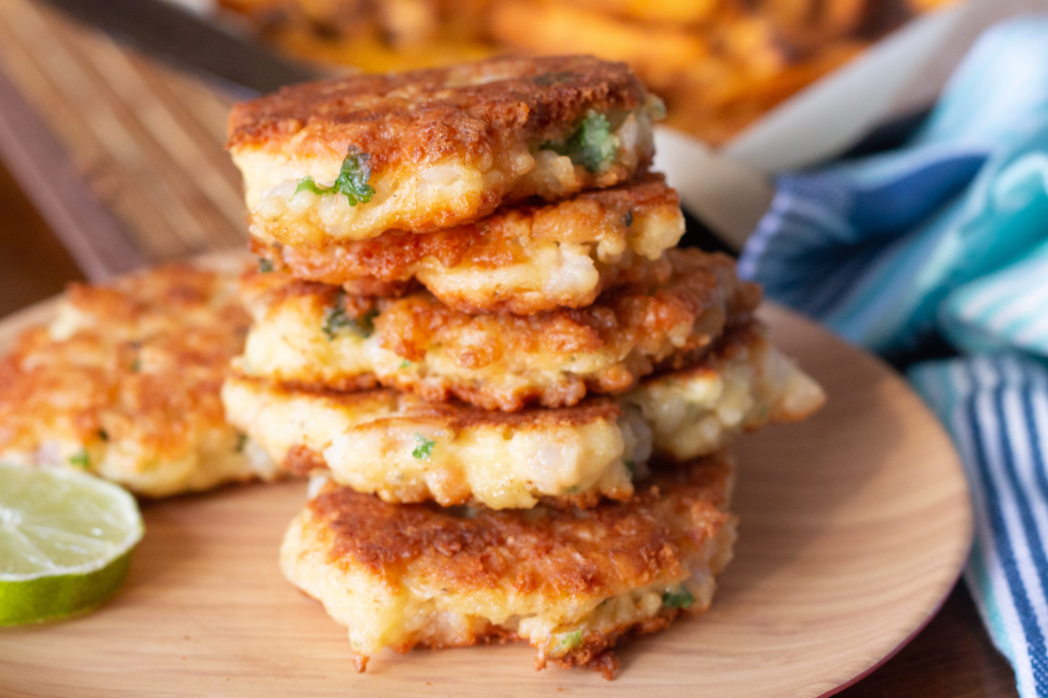 Tasty Homemade Cheesy Shrimp Patties