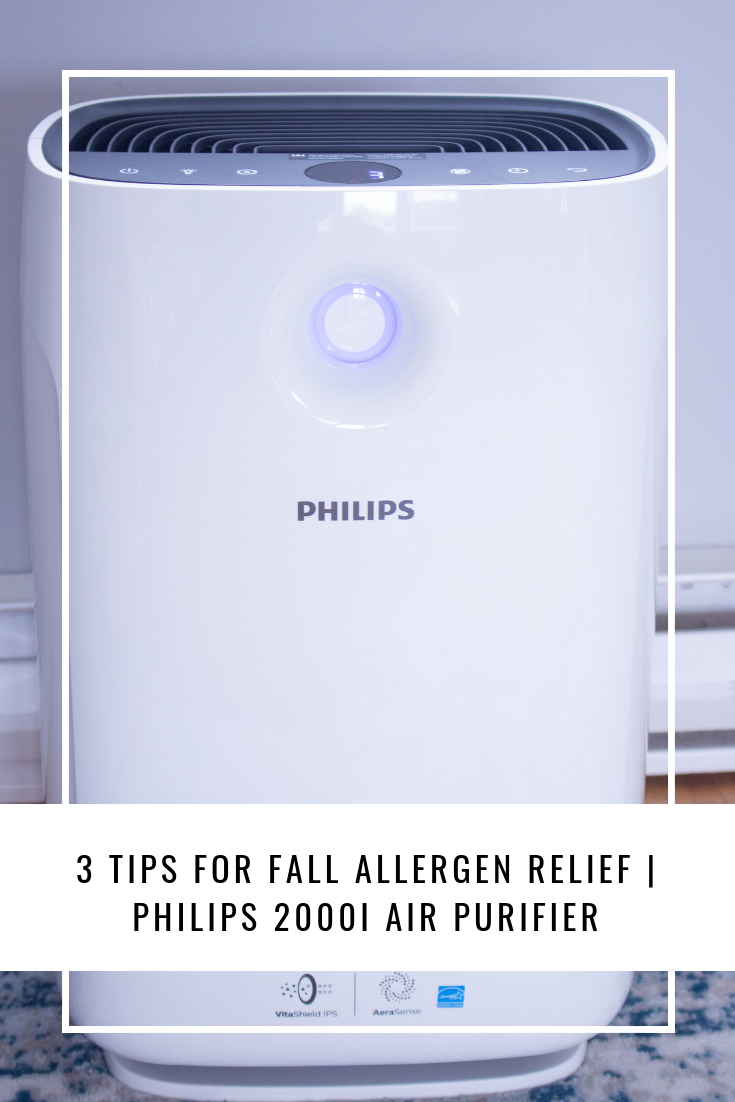 3 Tips For Fall Allergen Relief | Philips 2000i Air Purifier