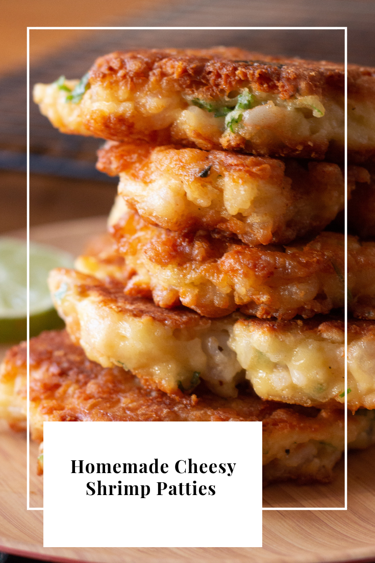 Tasty Homemade Cheesy Shrimp Patties Recipe