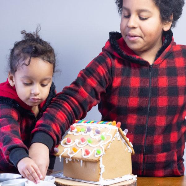 Creating Christmas Memories | Gingerbread House