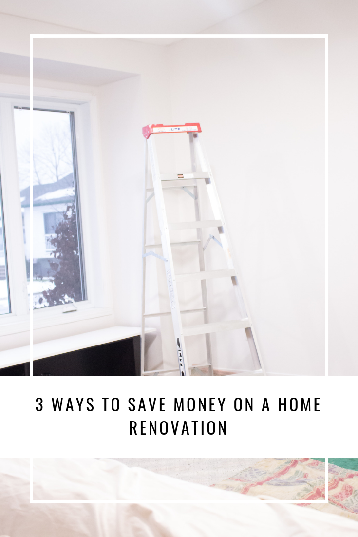 3 Ways to Save Money on a Home Renovation