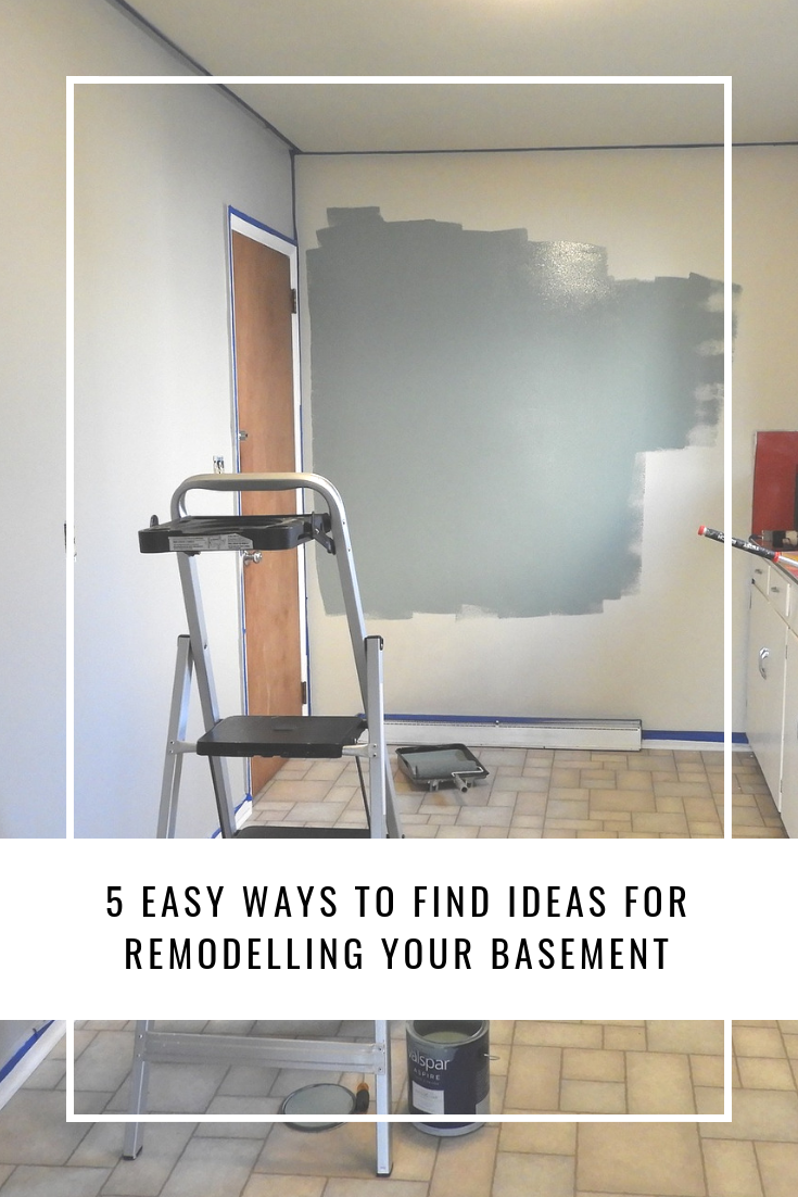 5 Easy Ways to Find Ideas for Remodeling Your Basement