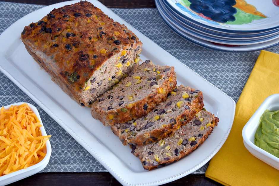 Tex-Mex Tasty Turkey Meatloaf