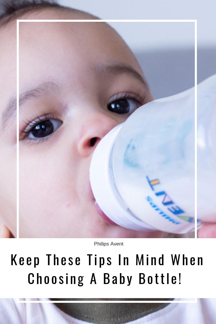 Choosing A Baby Bottle