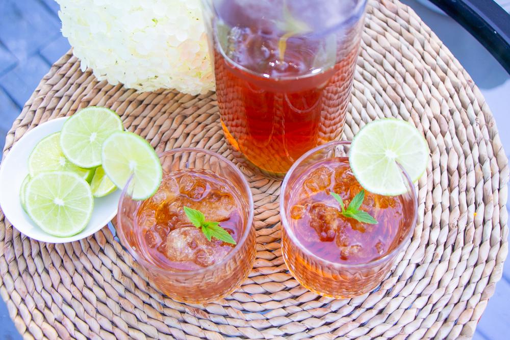 Morning Pick Me Up!   Apple Mint Iced Tea Recipe